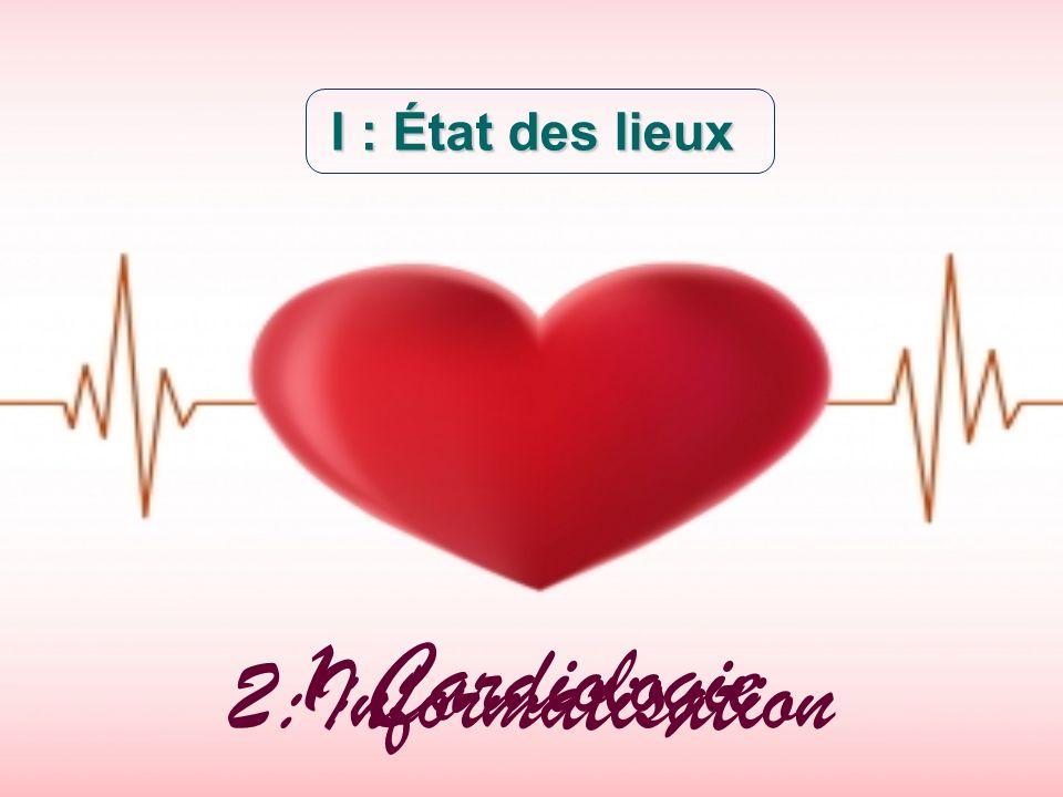 I : État des lieux 1:Cardiologie 2:Informatisation