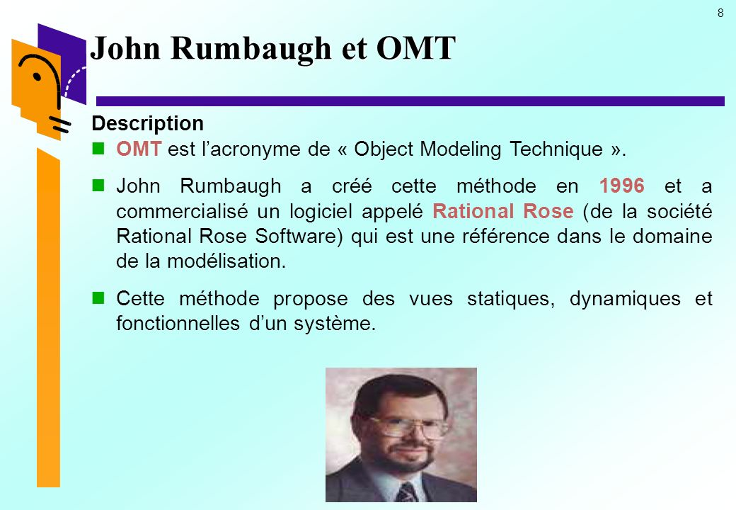 John Rumbaugh et OMT Description