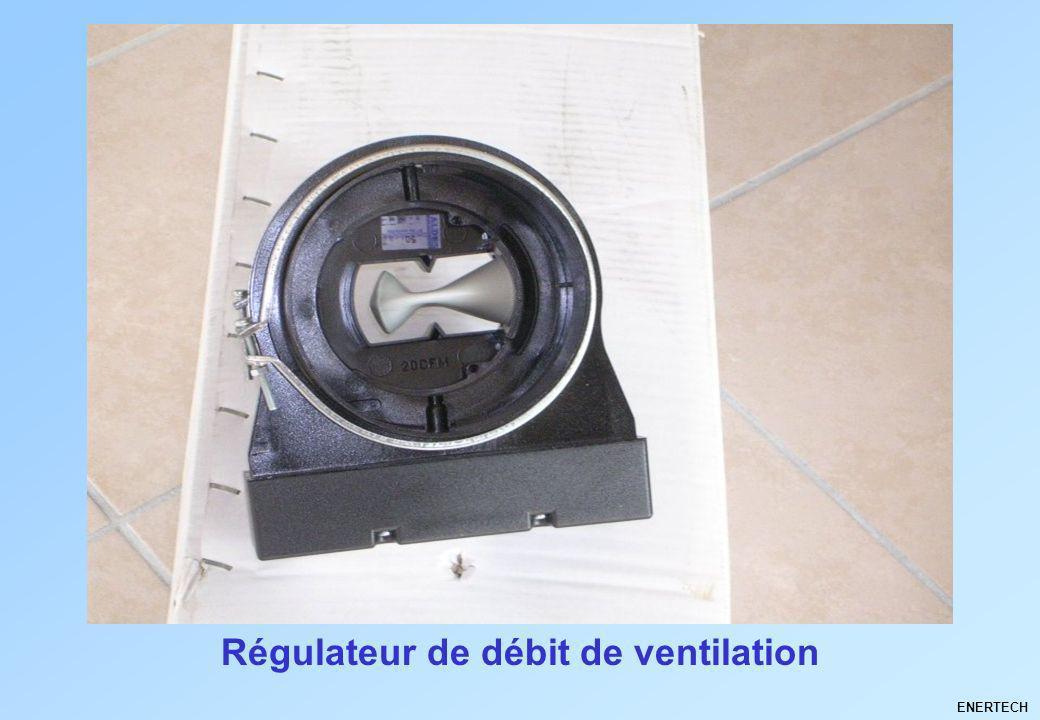 Régulateur de débit de ventilation