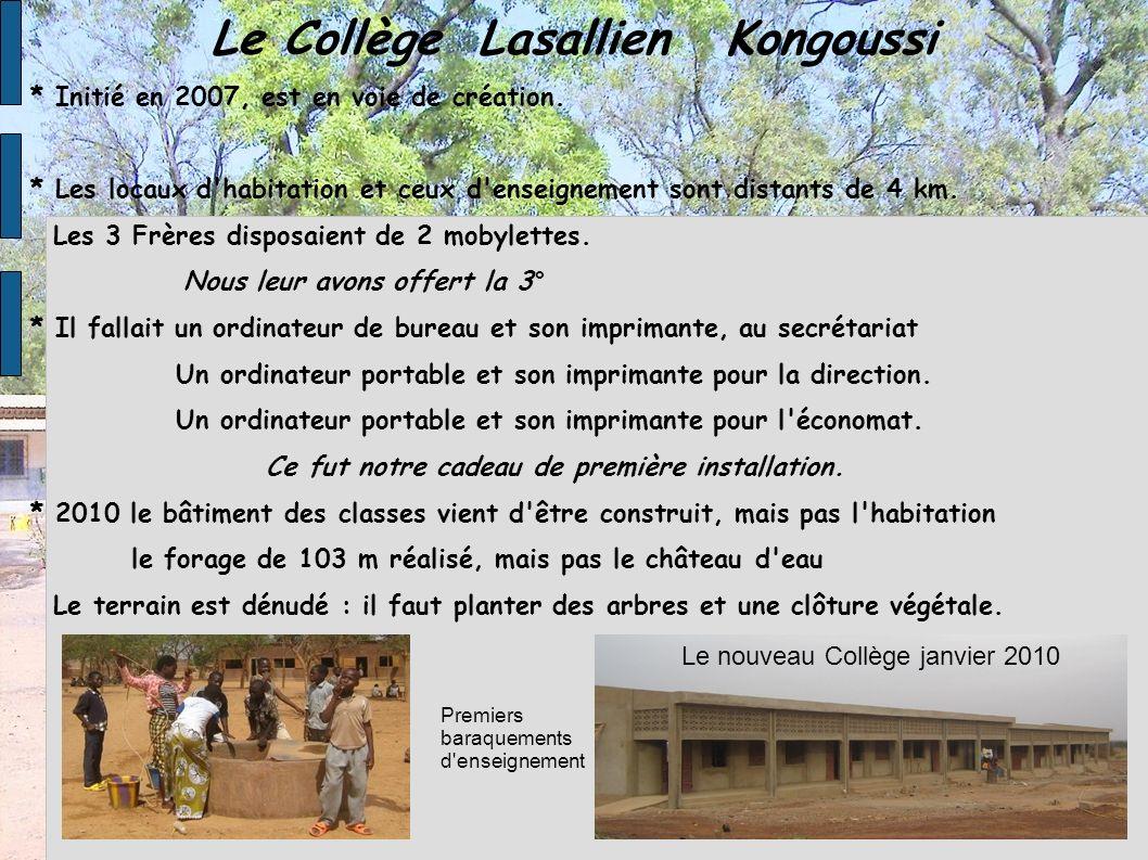 Le nouveau Collège janvier 2010