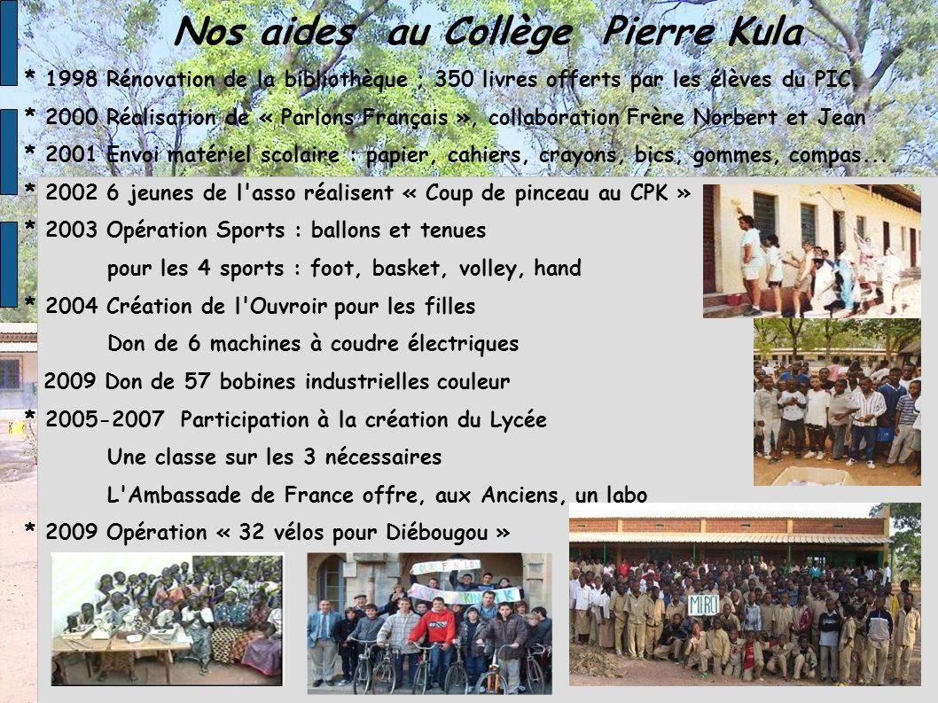 Nos aides au Collège Pierre Kula