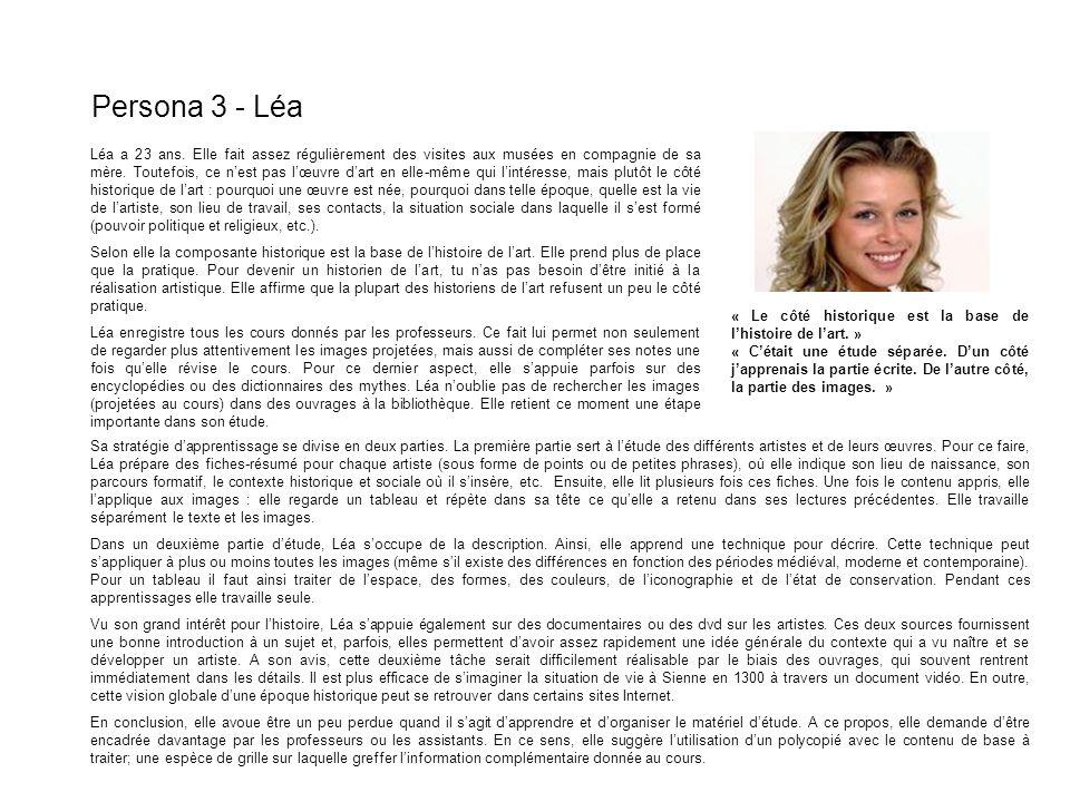Persona 3 - Léa