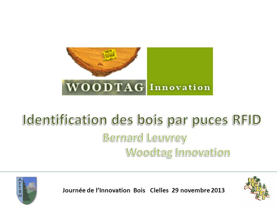 Identification des bois par puces RFID