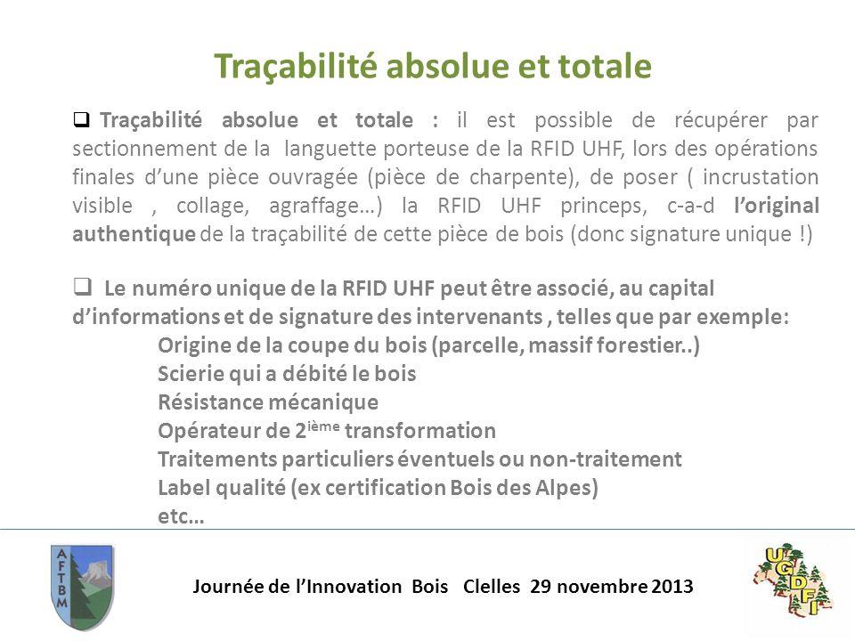 Traçabilité absolue et totale