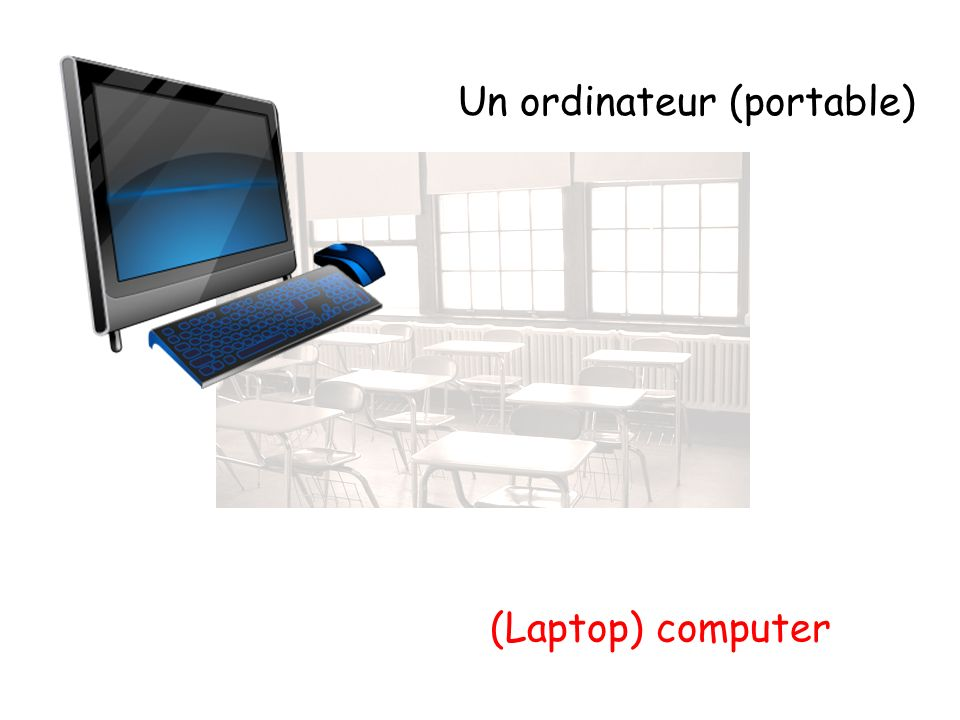 Un ordinateur (portable)