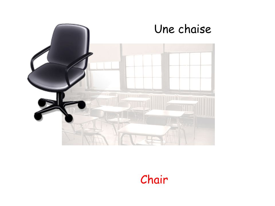 Une chaise Chair