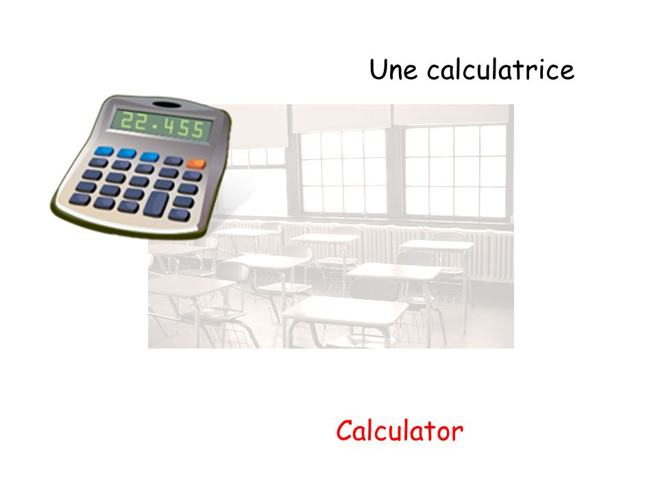 Une calculatrice Calculator