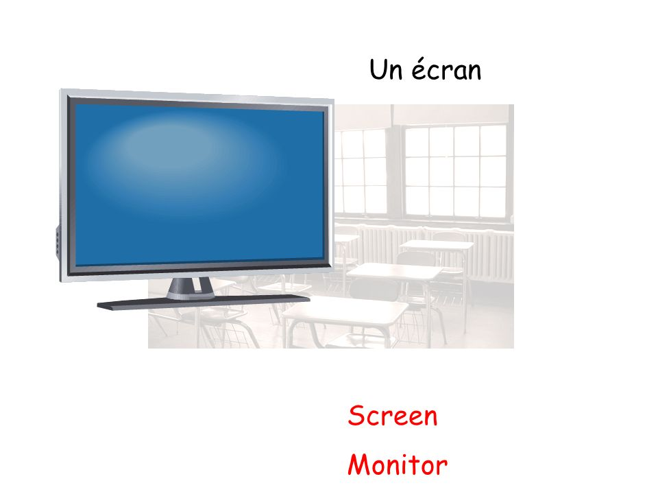 Un écran Screen Monitor