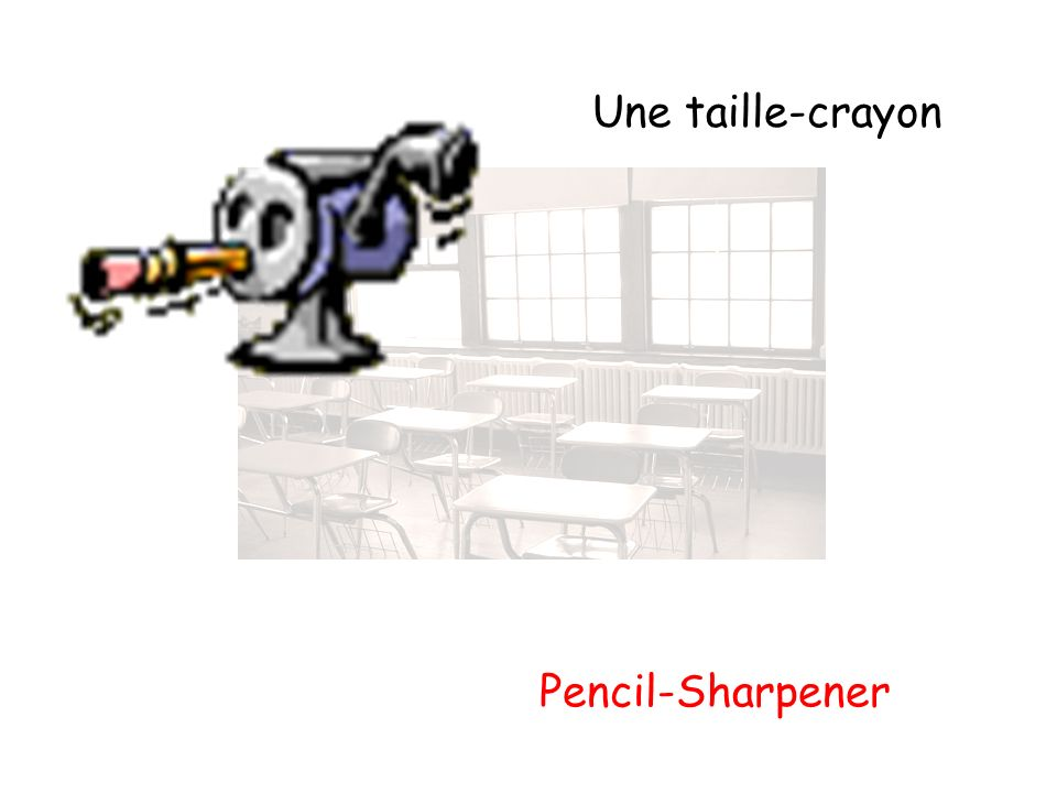 Une taille-crayon Pencil-Sharpener