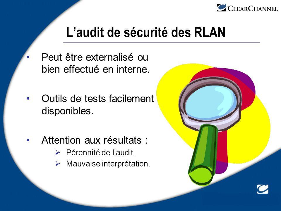 L'audit de sécurité des RLAN