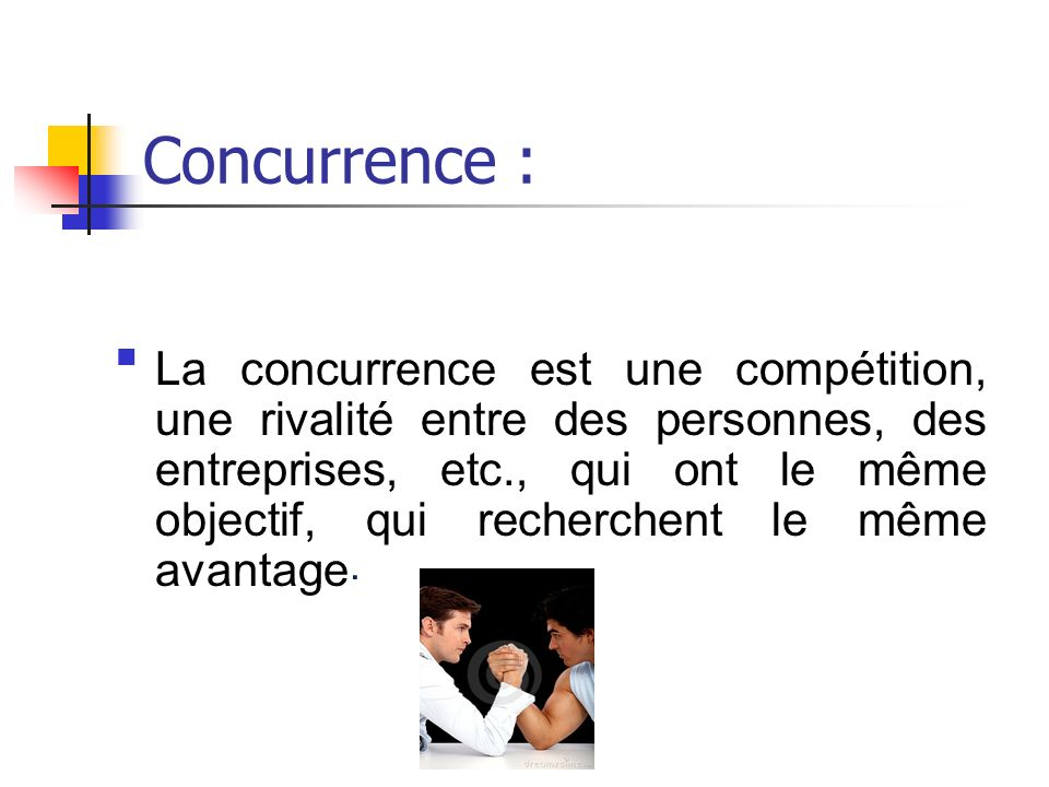 Concurrence :