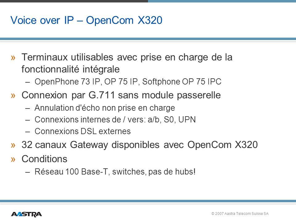 Voice over IP – OpenCom X320