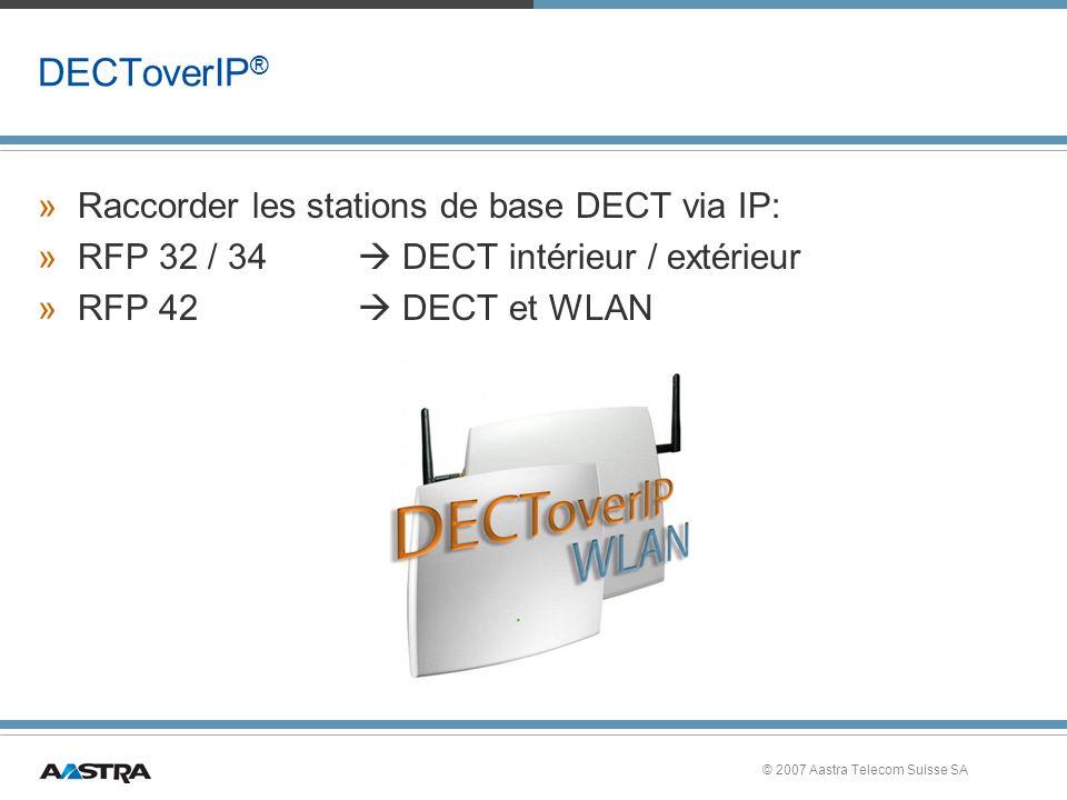 DECToverIP® Raccorder les stations de base DECT via IP: