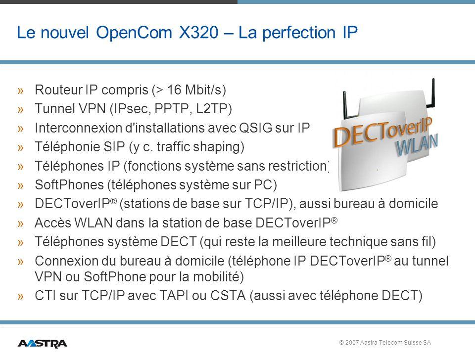 Le nouvel OpenCom X320 – La perfection IP