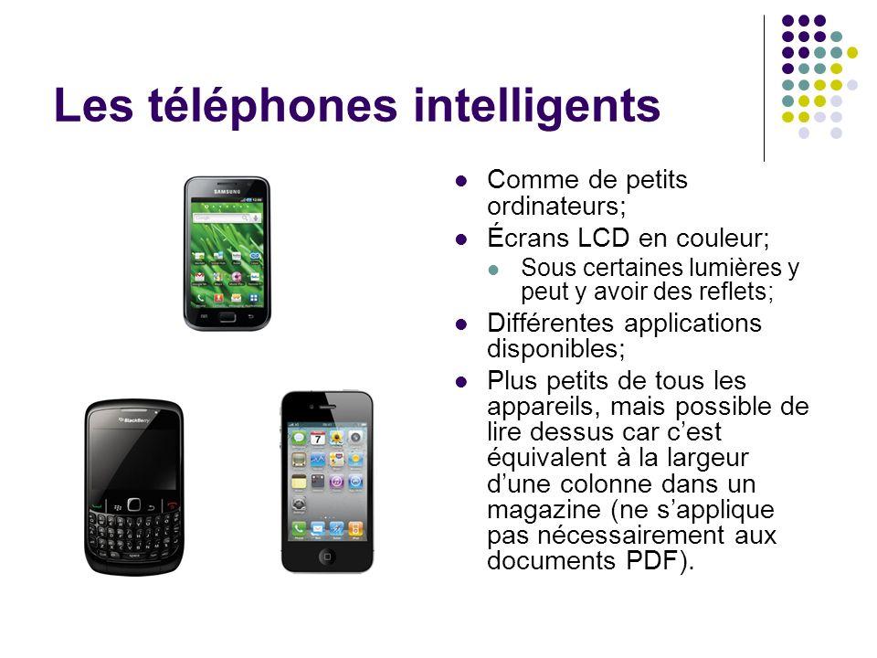 Les téléphones intelligents