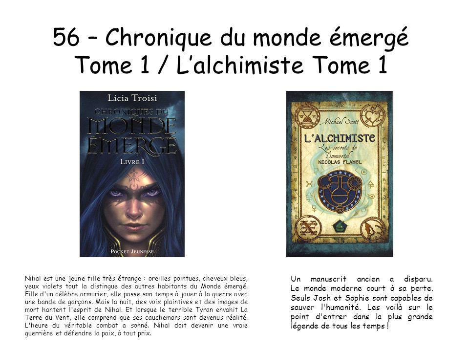 56 – Chronique du monde émergé Tome 1 / L'alchimiste Tome 1