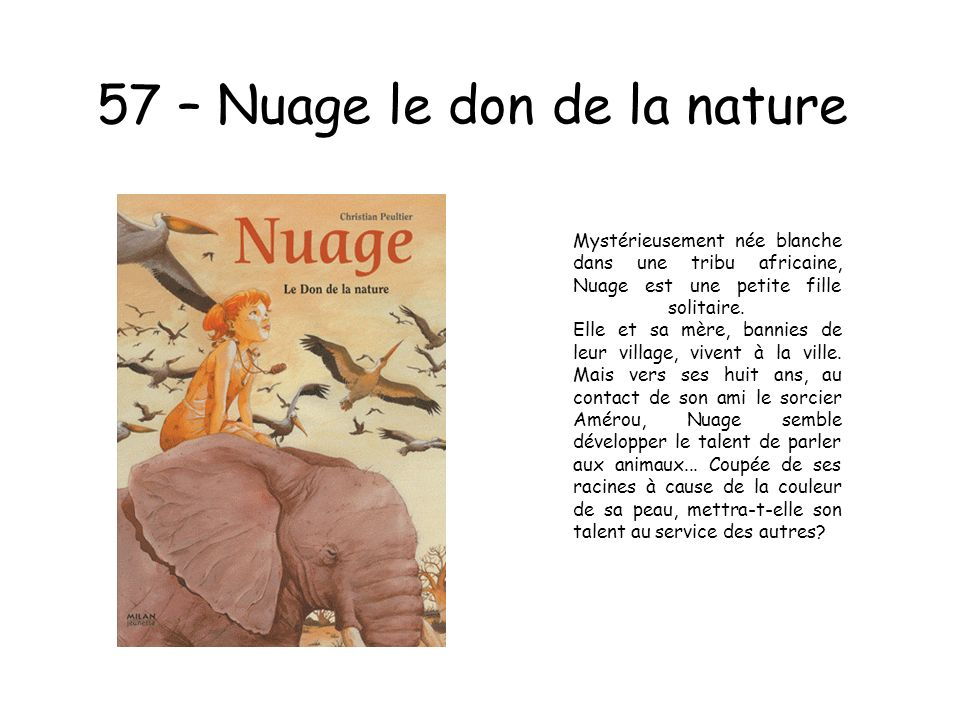 57 – Nuage le don de la nature