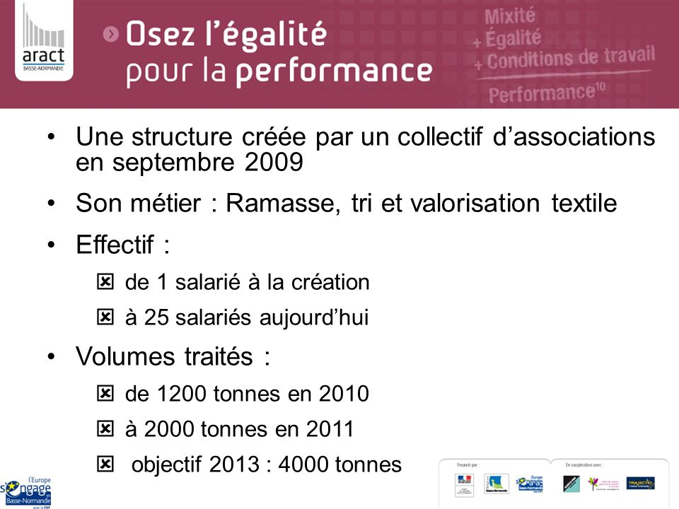 Une structure créée par un collectif d'associations en septembre 2009