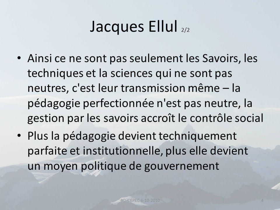 Jacques Ellul 2/2