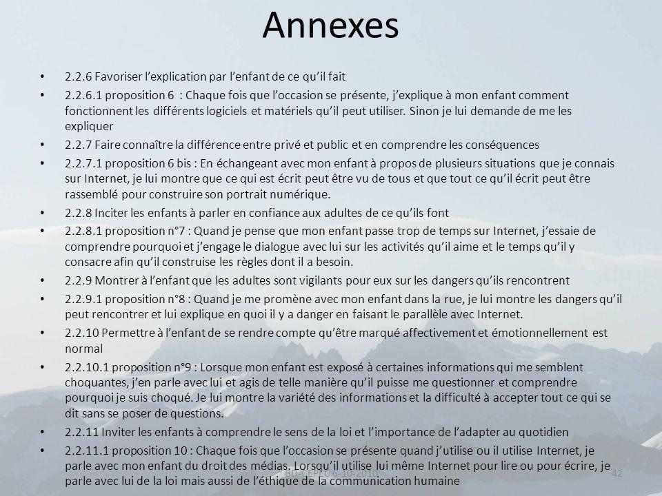 Annexes 2.2.6 Favoriser l'explication par l'enfant de ce qu'il fait