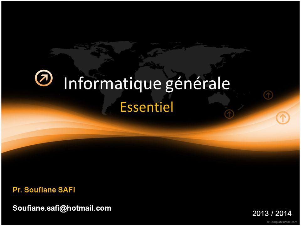 Informatique générale Essentiel