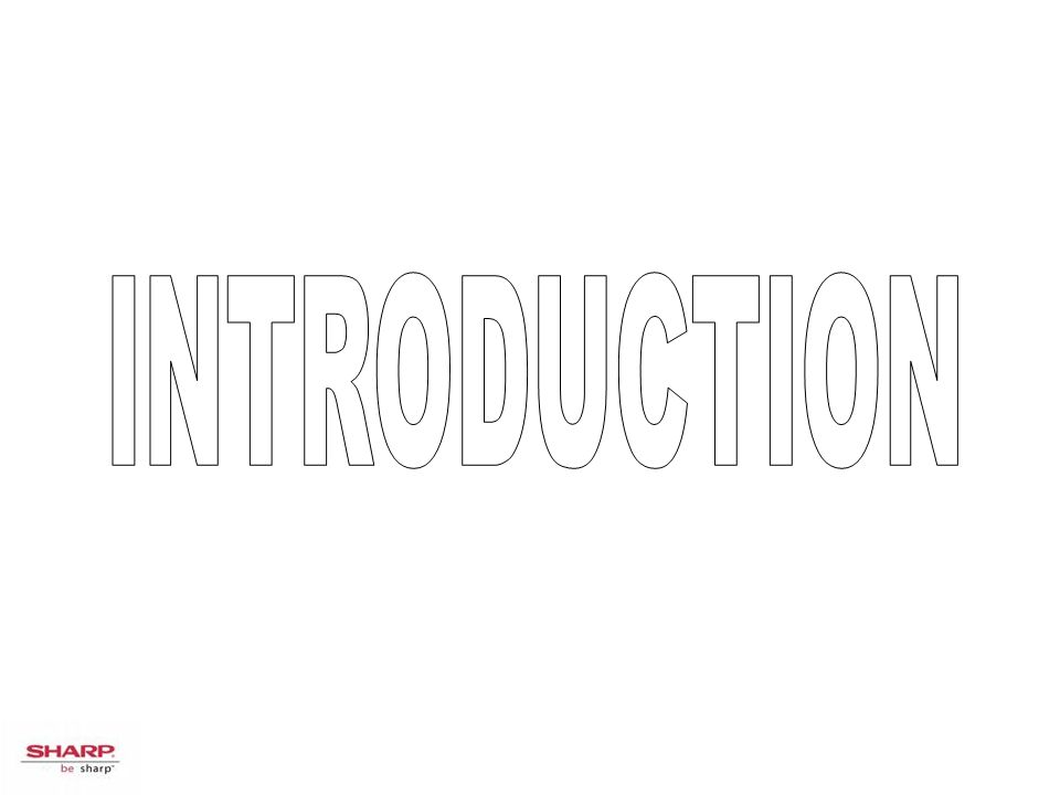 INTRODUCTION Introduction :