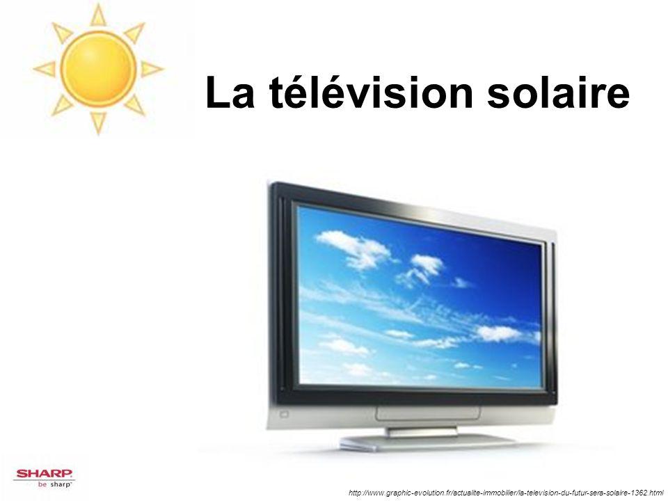 La télévision solaire