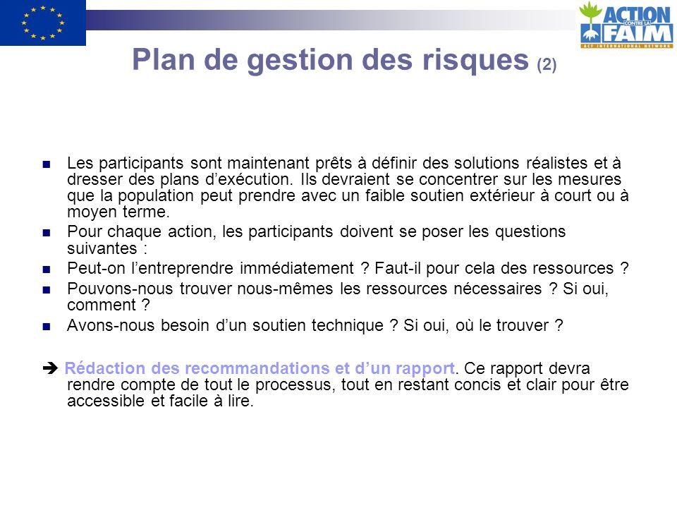 Plan de gestion des risques (2)