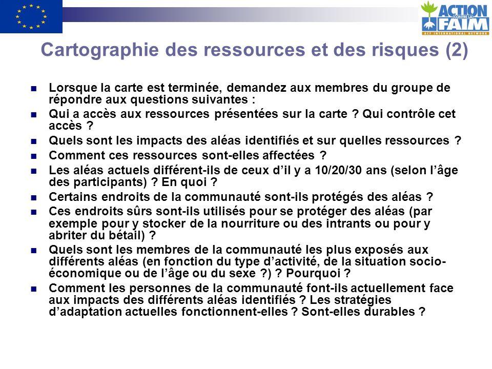 Cartographie des ressources et des risques (2)