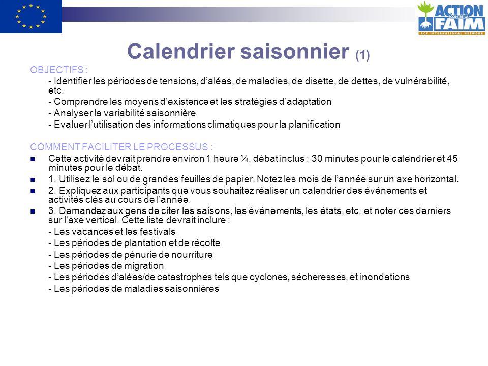Calendrier saisonnier (1)