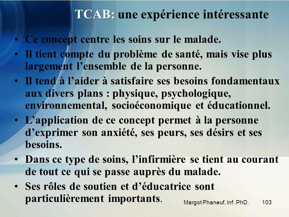 TCAB: une expérience intéressante