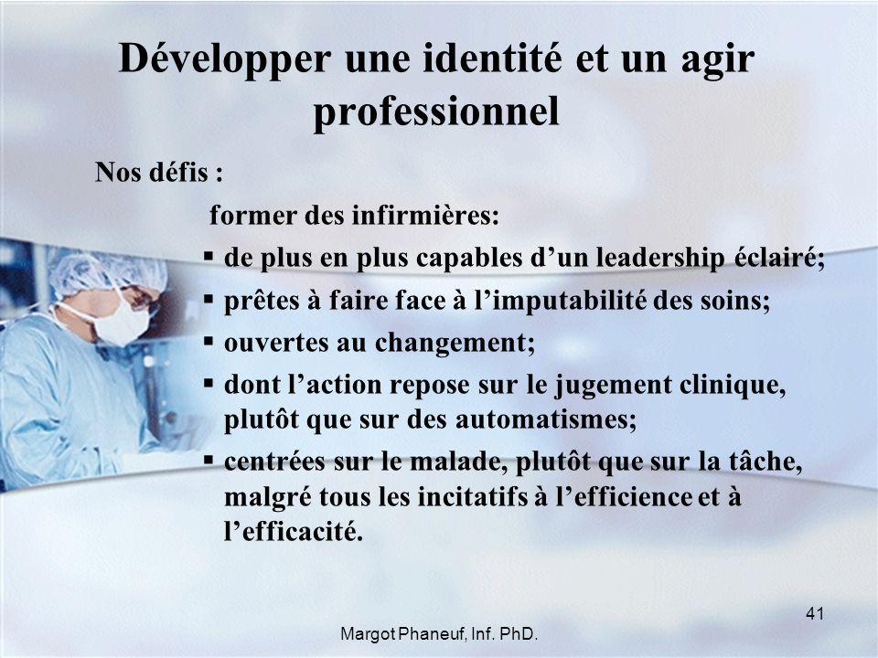 Développer une identité et un agir professionnel
