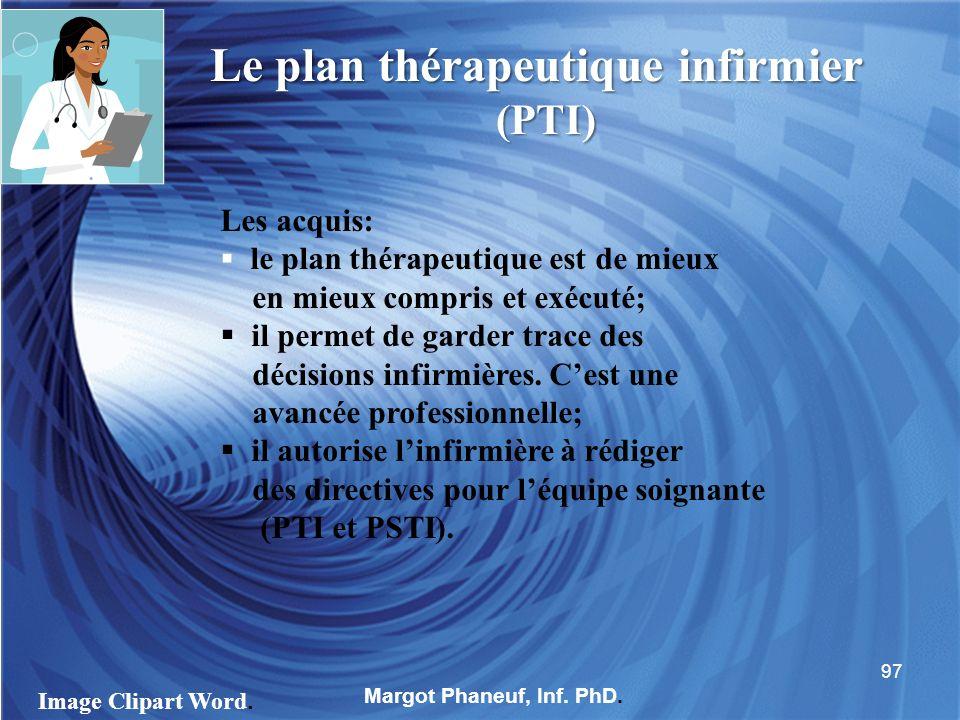 Le plan thérapeutique infirmier