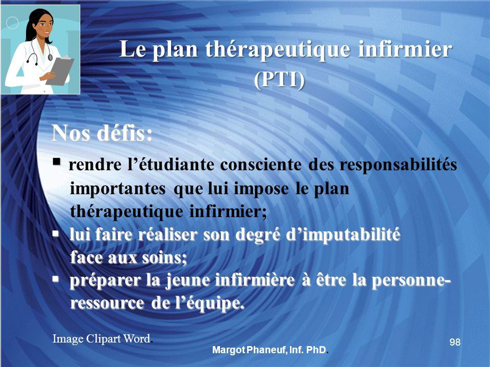 Le plan thérapeutique infirmier (PTI)