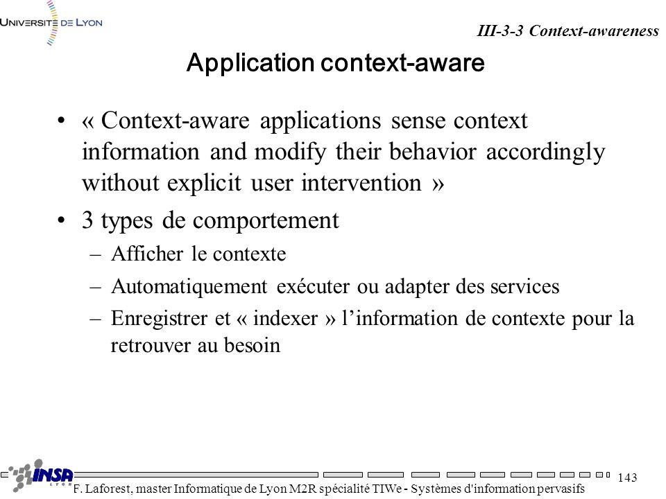 Application context-aware