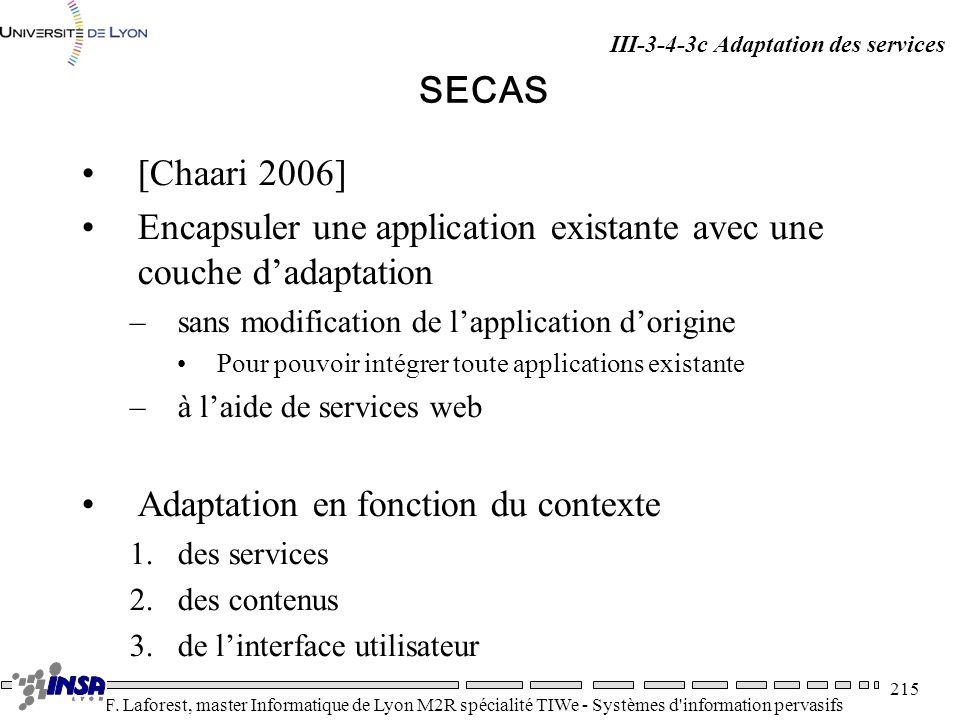 Encapsuler une application existante avec une couche d'adaptation