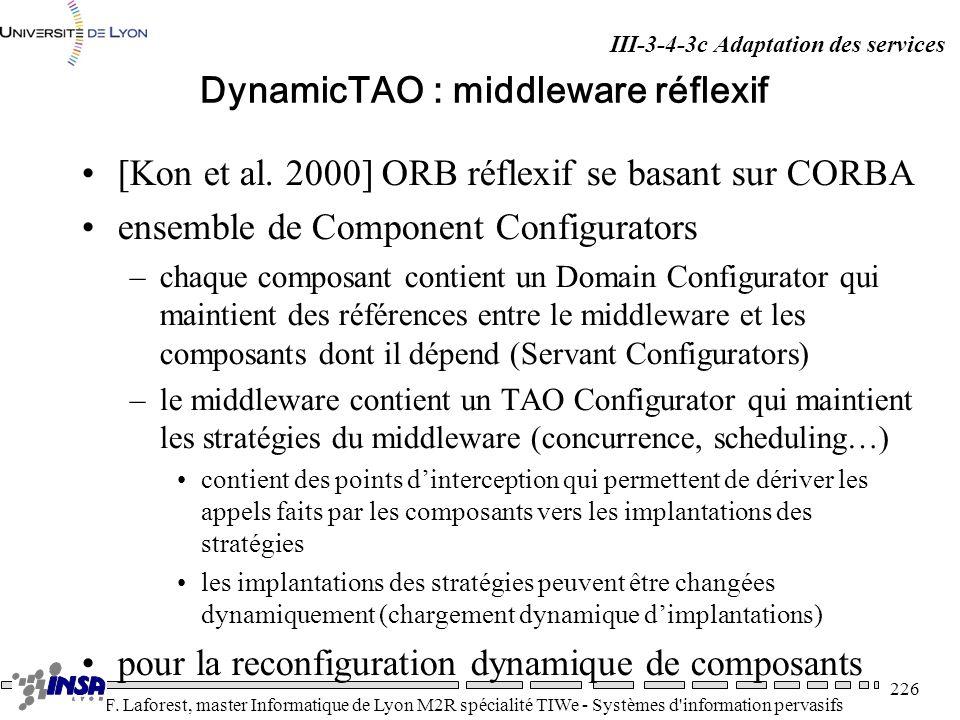 DynamicTAO : middleware réflexif