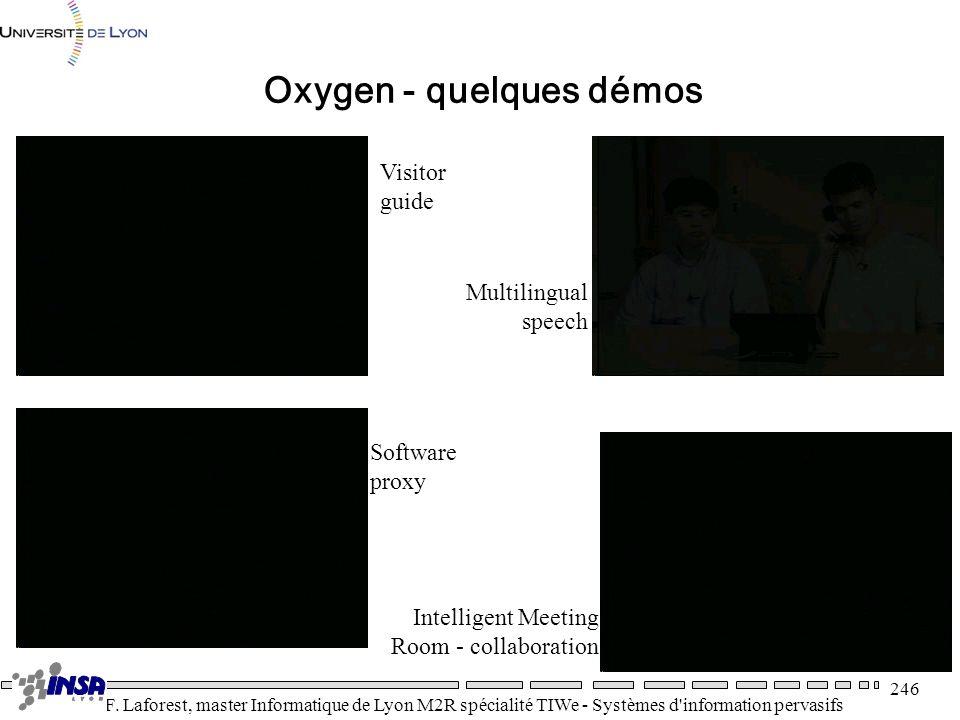 Oxygen - quelques démos