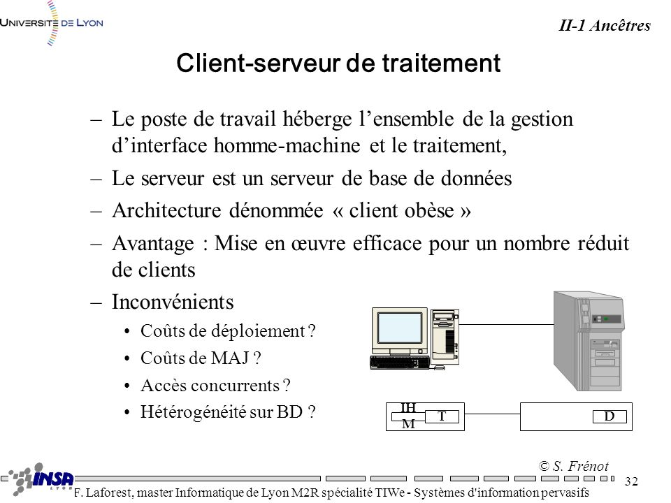 Client-serveur de traitement