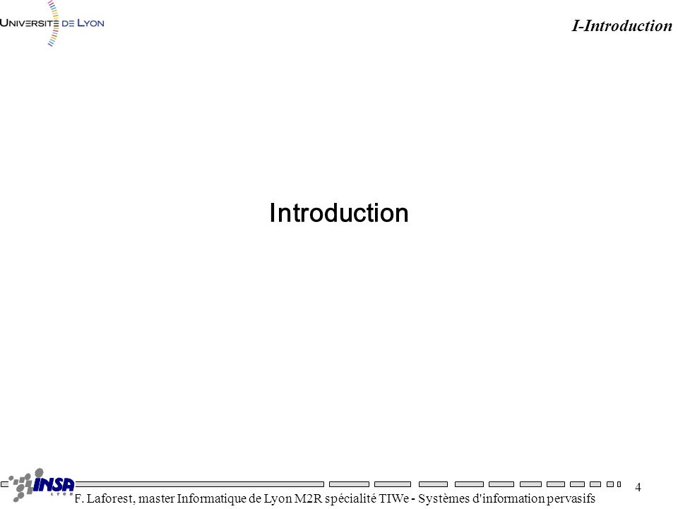 I-Introduction Introduction