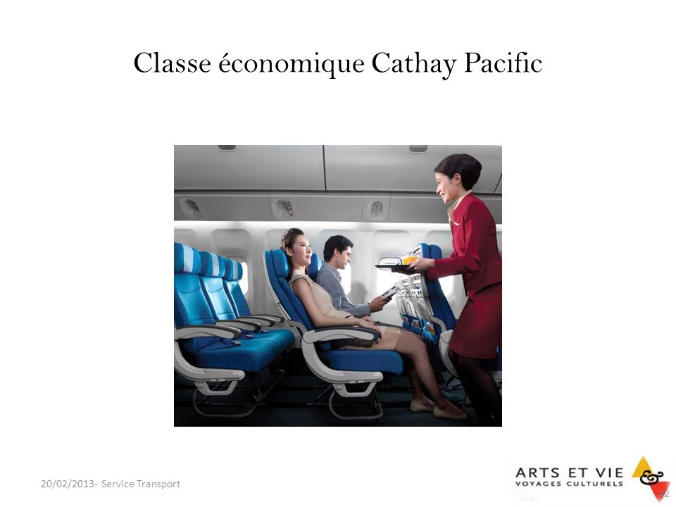 Classe économique Cathay Pacific