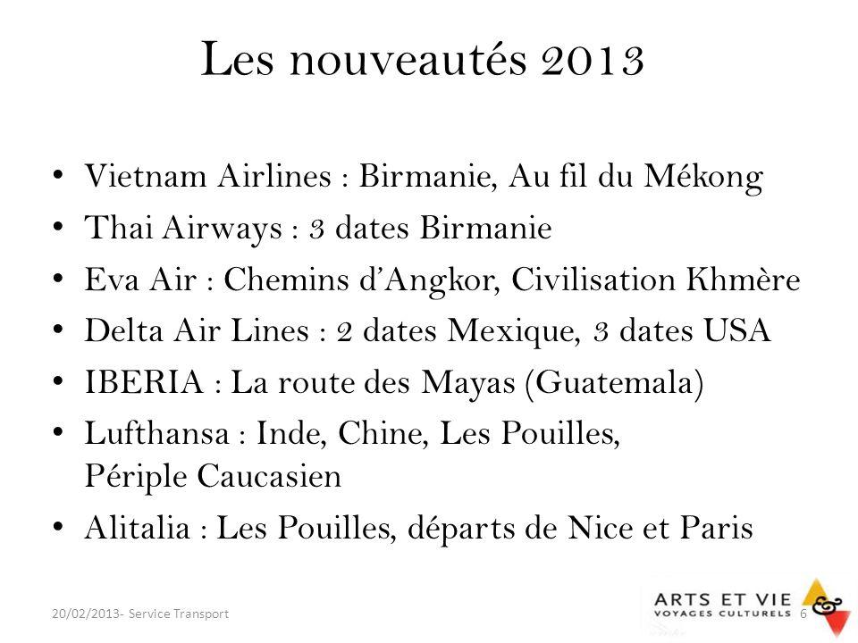 Les nouveautés 2013 Vietnam Airlines : Birmanie, Au fil du Mékong