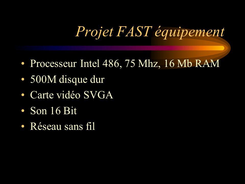 Projet FAST équipement