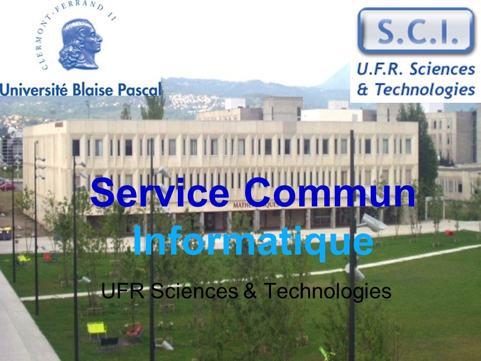 Service Commun Informatique