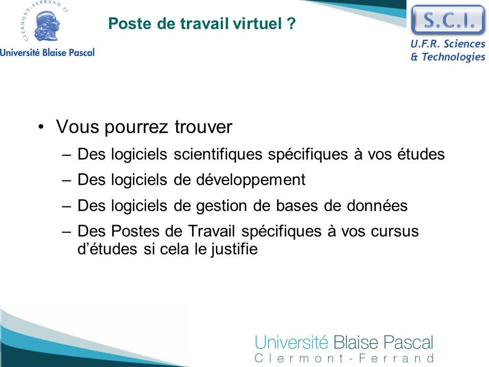 Poste de travail virtuel