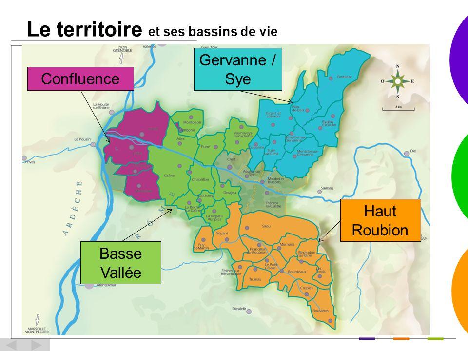 Le territoire et ses bassins de vie