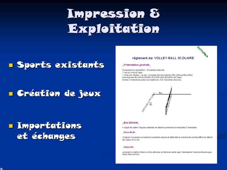 Impression & Exploitation