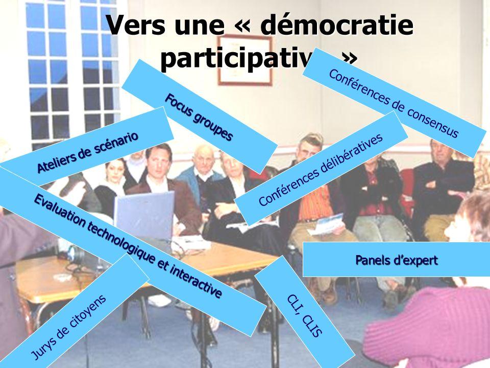 Vers une « démocratie participative »