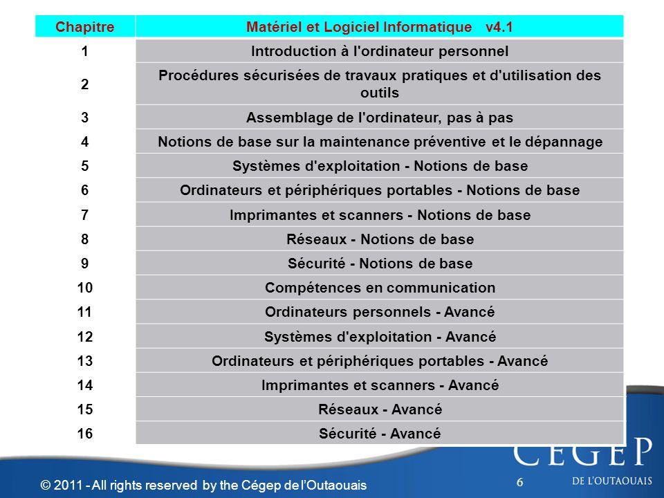 Matériel et Logiciel Informatique v4.1 1