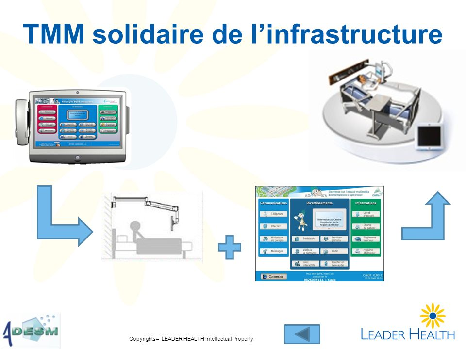 TMM solidaire de l'infrastructure